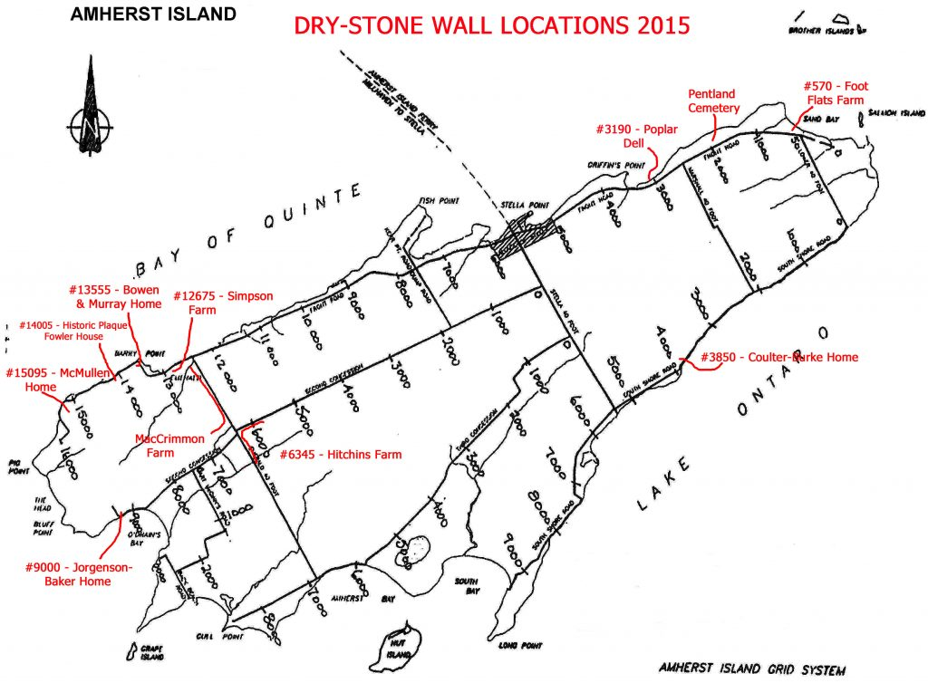 Dry Stone Wall Locations